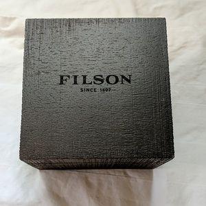 Filson   Wooden Watch Box